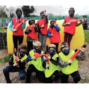 JUNIORS PARTY  --- Kids Paintball   7-12